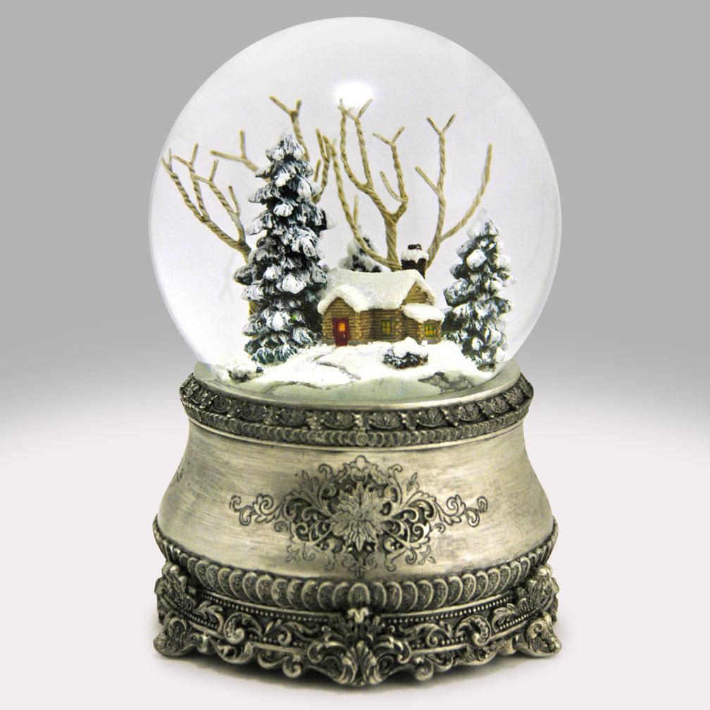Home For Christmas Snow Globe Global Shakeup