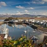 Porthmadog harbour - Llwyn Bugeilydd Snowdonia Caravan Park