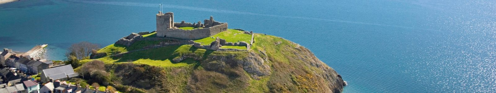 Criccieth Castle - Snowdonia Caravan Park Llwyn Bugeilydd