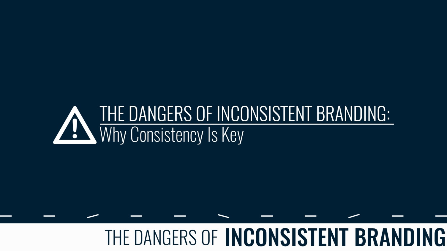 Why Brands Lose Their Way : The Dangers Of Inconsistent Branding