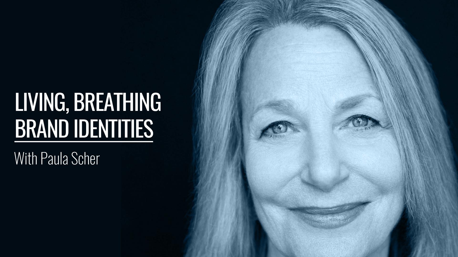 Living, Breathing Brand Identities With Paula Scher