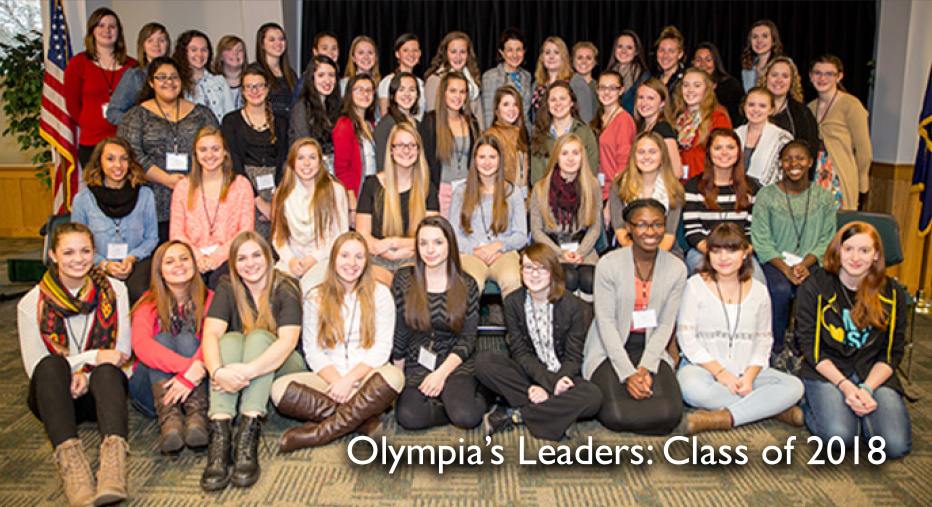 Olypmias Leaders: Class of 2018