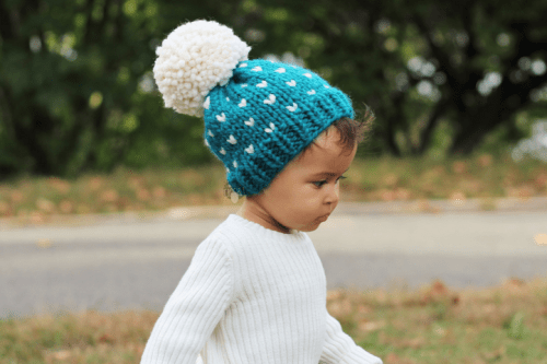 Knitted Slouch Beanie