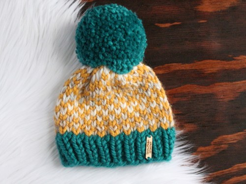 Falcon Knit Toddler Hat