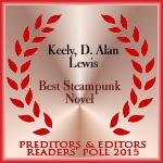 P&E best steampunk novel 2016