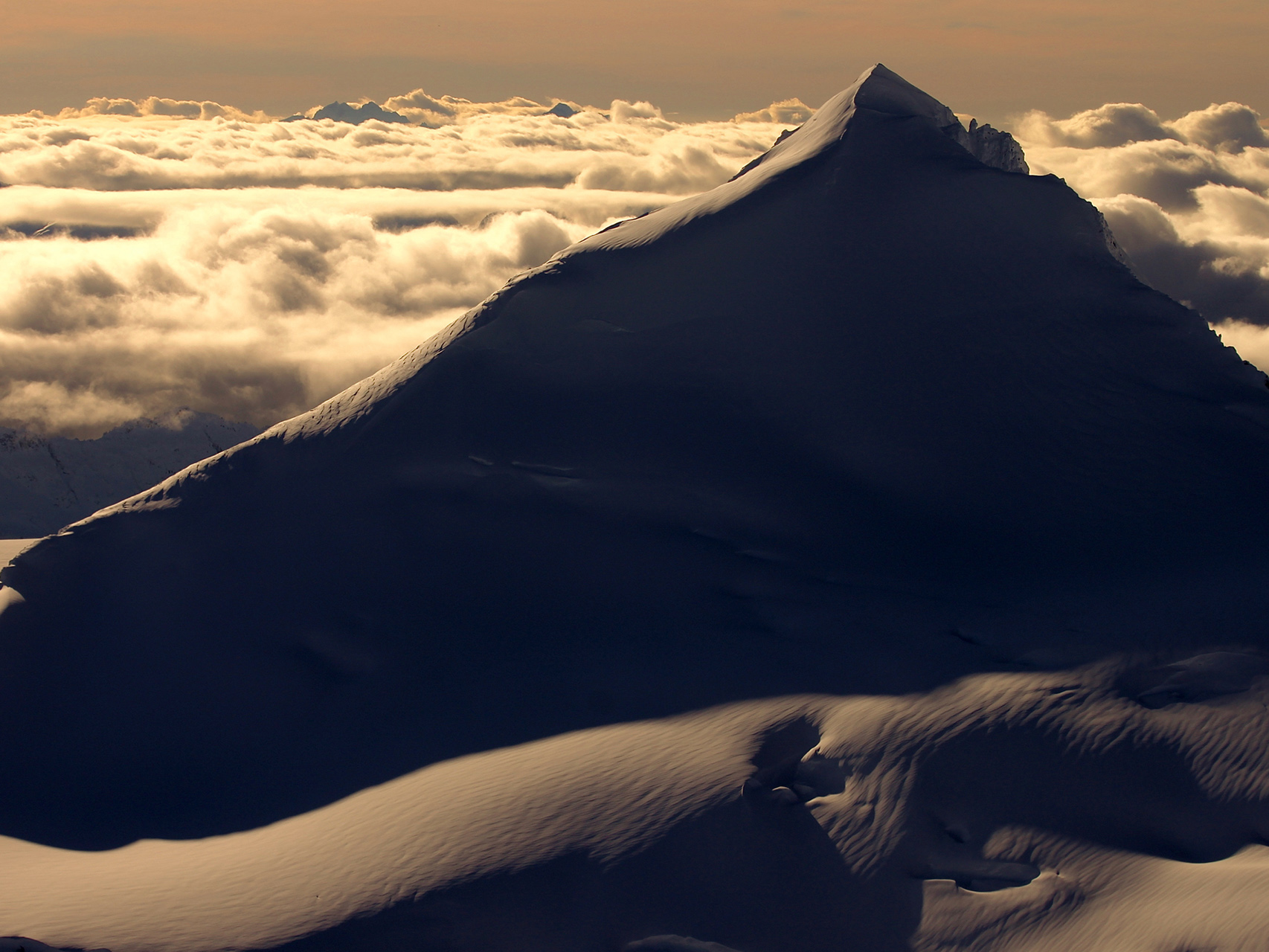 Aerial Photography and Mountain Shadows