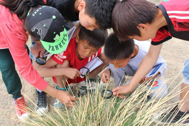 Nadia was instrumental in bringing eco-awareness camps for school kids to Mongolia.