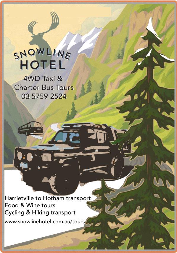 Mount Hotham & Falls Creek Charter Bus & 4wd Taxi