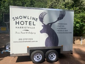 Snowline Coolroom trailer for hire
