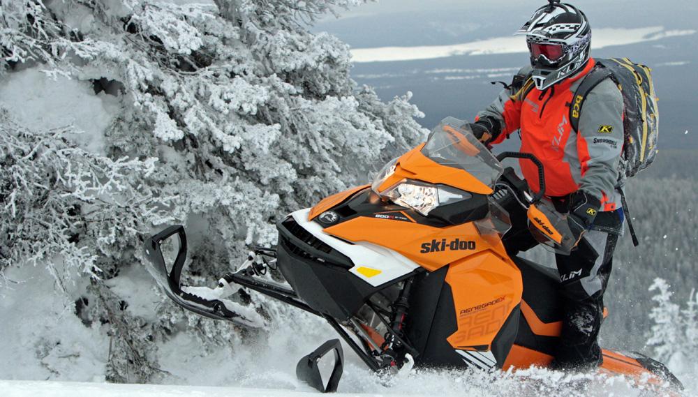 2017 Ski Doo Renegade Backcountry X 800R Review