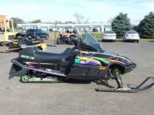 Used 1999 Arctic Cat ZL 600 EFI For Sale : Used Snowmobile