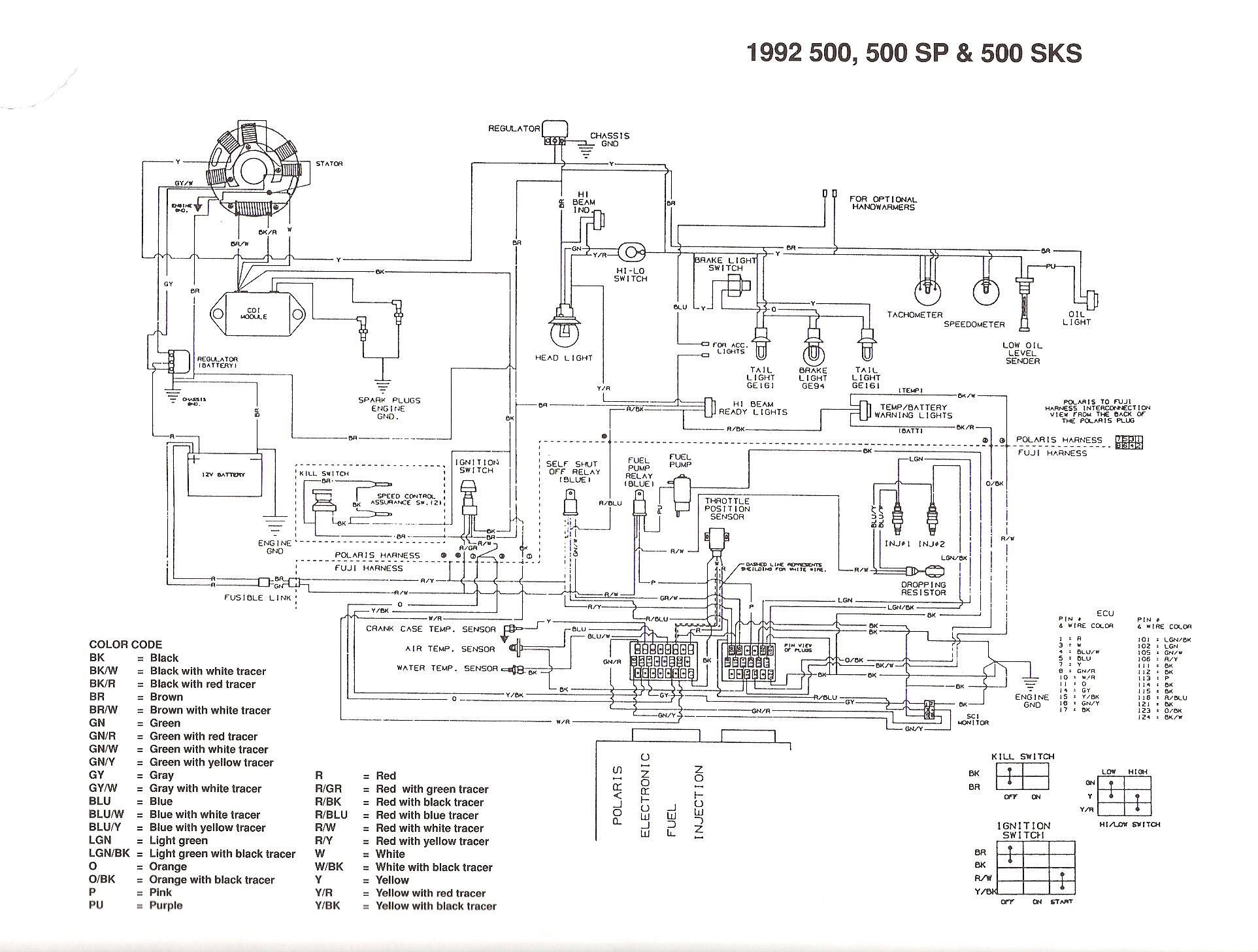 Polaris Sportsman 500 Ho Parts Diagram