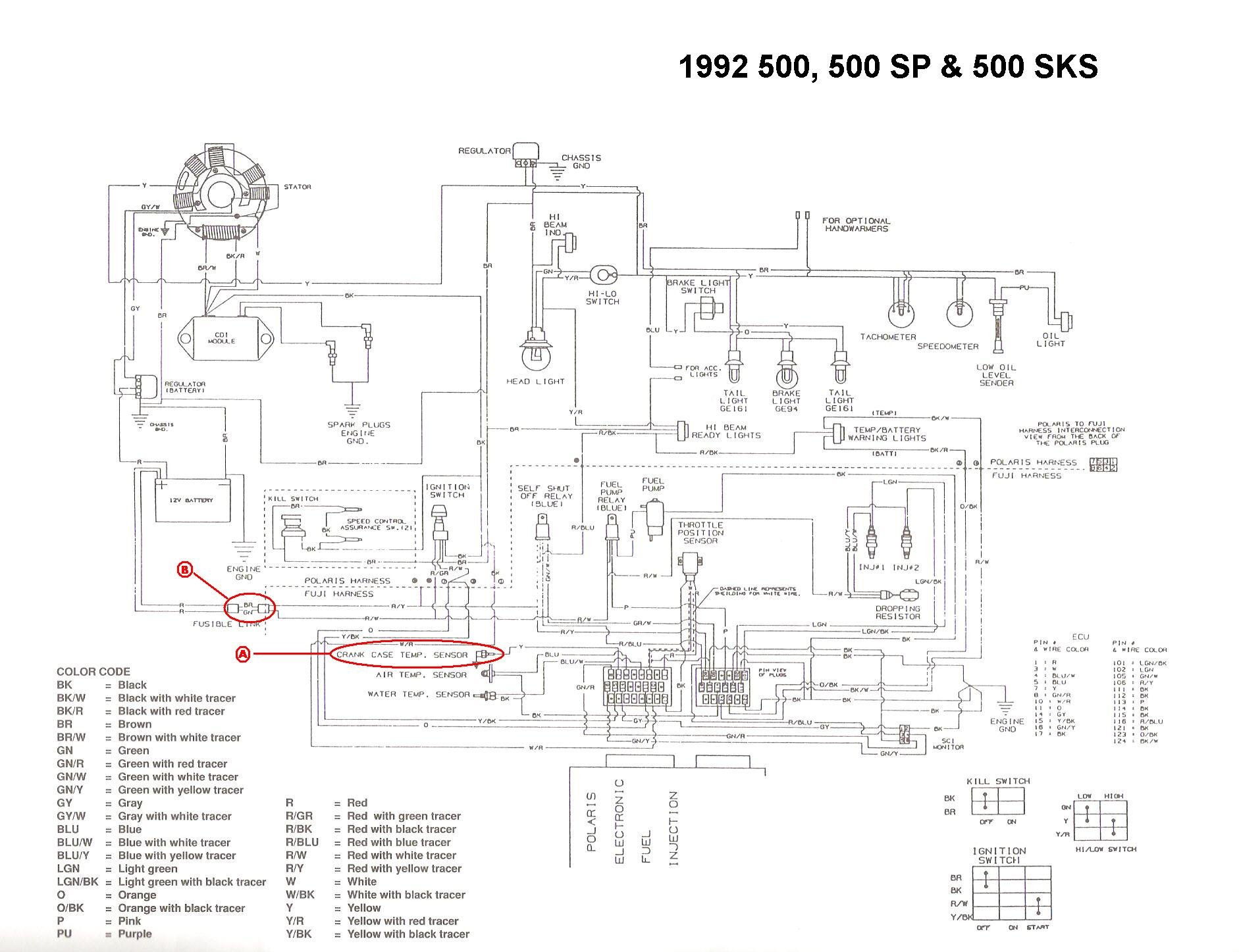 Wiring Diagram Atv Polari Sportsman 500 Efi Wiring
