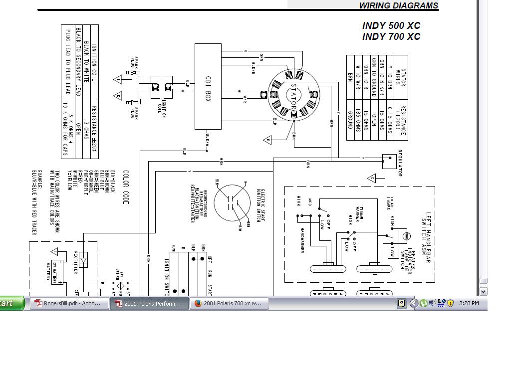 Wiring Diagram Polaris 250