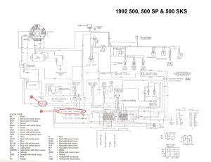 1992 indy 500 efi  no ground signal