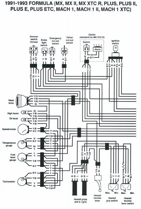 ski doo wiring diagram wiring diagrams blizzard 5500 wire diagram printable wiring