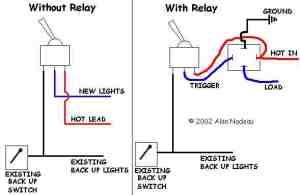 Alan's Reverse Light Wiring Diagram  Snowplowing