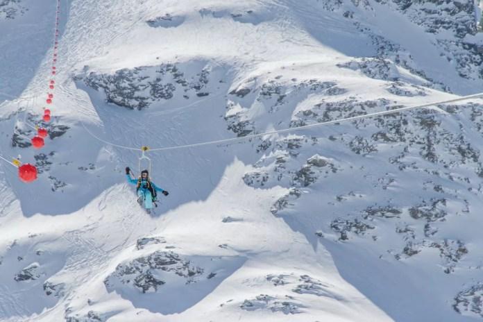 La Tyrolienne, mega zippline