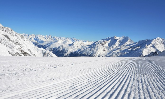 Saas-Fee Opening: Sneeuwzeker