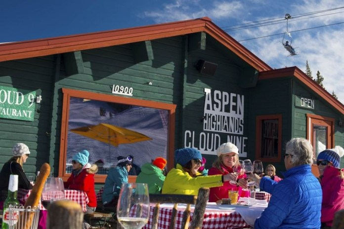 après-ski hotspot