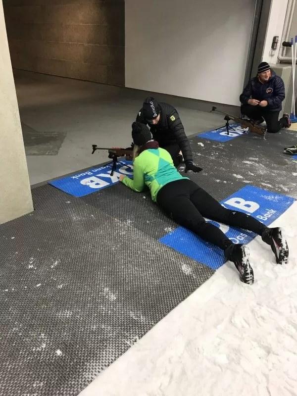 biatlon clinic, Oberhof