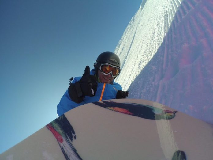 Action Cam voor de SnowRepublic-video: CHECK!