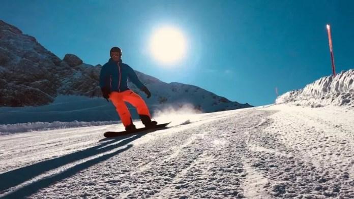 Perfecte pistes op de gletsjer