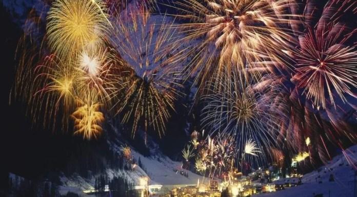 Oud en nieuw vieren op de pistes in Frankrijk
