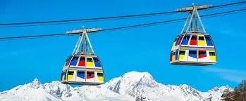 Vanoise Express, de verbinding tussen La Plagne en Les ArcsVanoise Express, de verbinding tussen La Plagne en Les Arcs