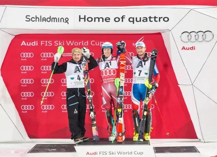 De beste skiërs strijden om de eerste plek
