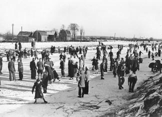 Schaatsen in vroeger tijden