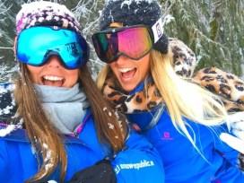 Snowrepublic reporters Ilse en Karin in Saalbach (6 - 10 maart 2018)