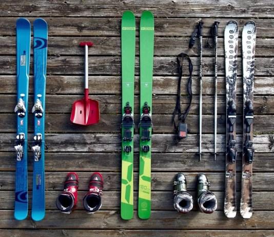 opbergen ski uitrusting