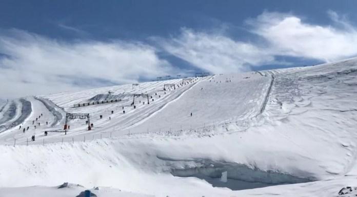 Gletsjer Les Deux Alpes