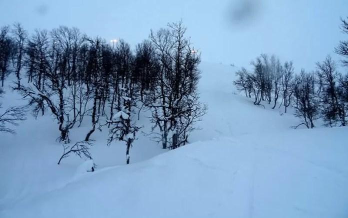Off piste Hemsedal