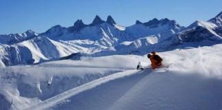 Diepsneeuw paradijs