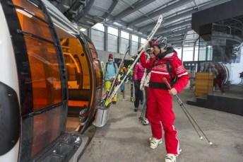 Skifahren auf der HochjochTotale (c) Stefan Kothner - Montafon Tourismus GmbH