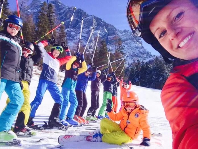op wintersport met kinderen