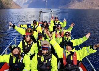 Myrkdalen Noorwegen Dutchweek fjordsafari rib
