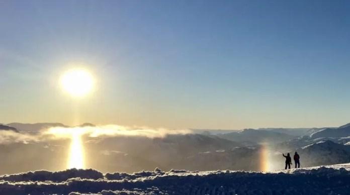 Hoe waanzinnig mooi is het hier om te skiën?