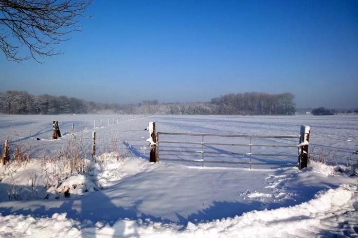 Sneeuwen in Nederland