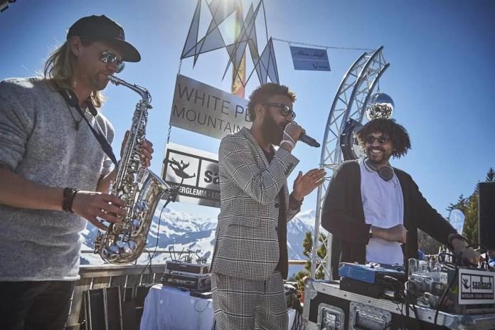 DJ's en live performances. Foto: saalbach.com, Daniel Roos