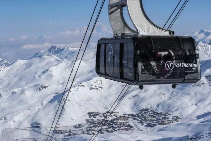 Cime de Caron lift in Val Thorens blijft het hele seizoen dicht