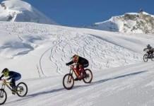 Glacier Bike Downhill