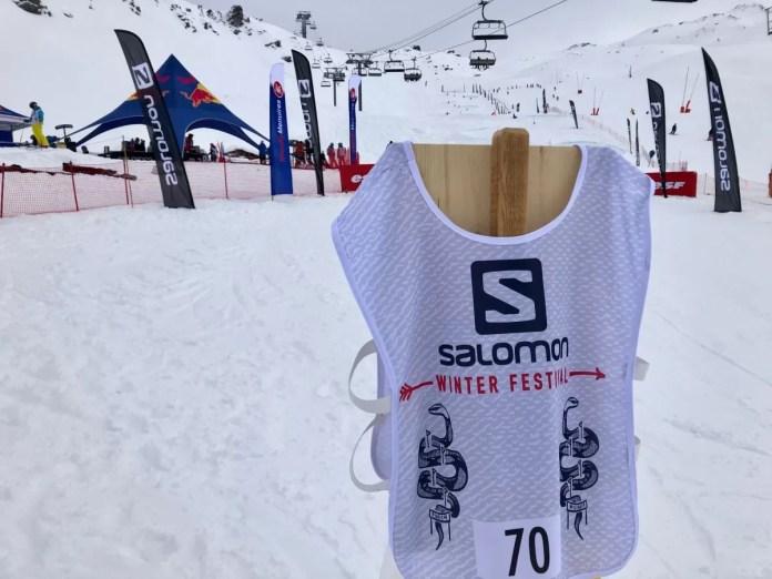 Salomon Salomon Winter Festival in Les Menuires in Les Menuires