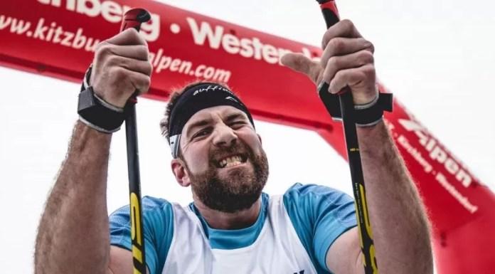 Triathlon à la GOAS in Kirchberg te Oostenrijk