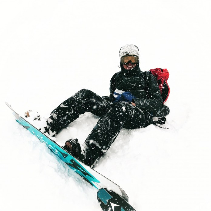Harde wind, sneeuw, slecht zicht en lawinegevaar... Einde oefening