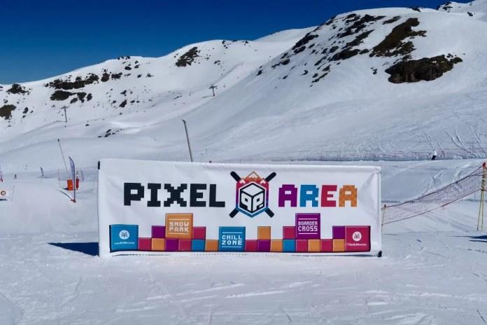 Boardercross in Les Menuires (Pixel Area)