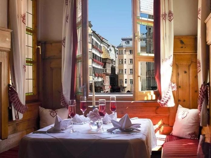 Restaurant Ottoburg te Innsbruck
