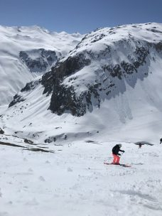 Off-piste in Tignes